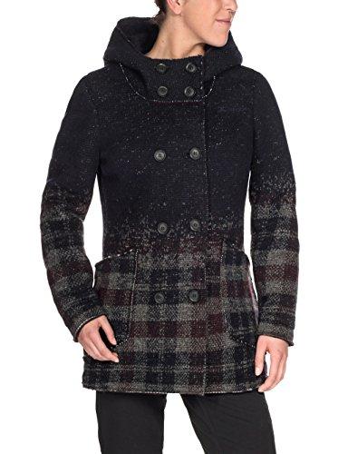 Vaude dam Västeras kappa damencamping utomhus pullover-tröjor Eclipse/Raisin 38 EU