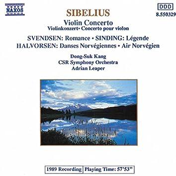 Sibelius: Violin Concerto / Sinding: Legende / Halvorsen: Norwegian Dances