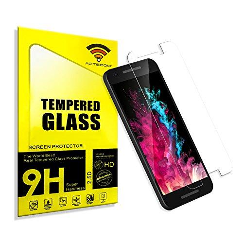 cogac ACTECOM® Cristal Templado Protector Pantalla 0.2MM para LG Google Nexus 5X con Caja
