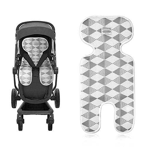 Kinderwagen Sitzauflage, Universal Breathable Baby Sitzauflage Cool Comfortable Child Mat Cushion Newborn Toddler Baby Seat Insert for Pushchair Stroller Buggy