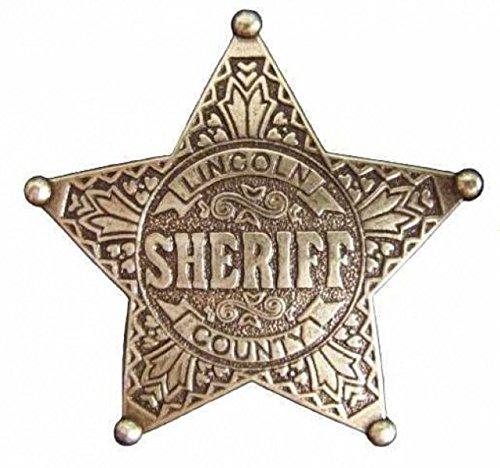 Denix Sheriffstern Lincoln county Sheriff Stern messingf. Cowboy Western