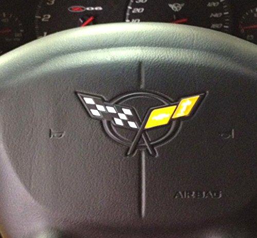 corvette wheel emblem - 9