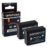 PATONA 2X Platinum Bateria NP-W126S Compatible con Fujifilm FinePix HS30EXR HS33EXR HS50EXR XPro-1 XPro-2