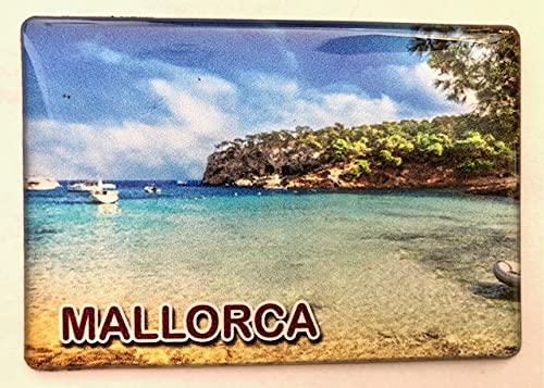 Imán para nevera Mallorca, Islas Baleares, España, Souvenir Imán para nevera Spain Fridge 020421