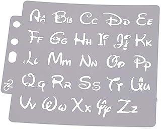 Plantillas de letras del alfabeto para manualidades, álbumes de recortes, repujado, tarjetas de