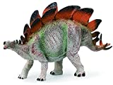 Gemini&Genius Stegosaurus Dinosaur Action Figure Jurassic Dino Toys Green Science Educational Realistic Design Dinosaur Figure Gift for Kids Party and Classroom Prize Supplies