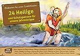 24 Heilige und Schutzpatrone für unsere Jahreskrippe: Bildkarten für unser Erzähltheater. Entdecken. Erzählen. Begreifen. Kamishibai Bildkartenset. ... und Heiligen für unser Erzähltheater)