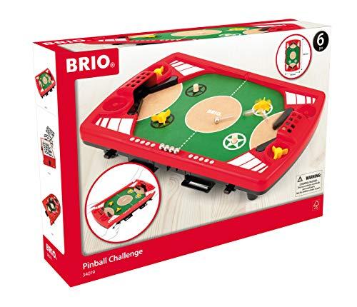 BRIO Spiele 34019 - Tischfußball-Flipper