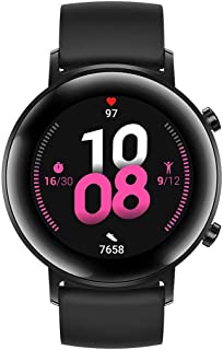 HUAWEI Watch GT 2, 15 Workout Modes & Full-time Fitness Trainer, 42mm - Black