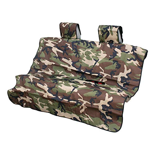 ARIES 3146-20 Seat Defender 58-Inch x 55-Inch Camo Universal Bench Car Seat Cover Protector
