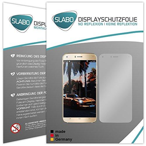 Slabo 2 x Bildschirmfolie für UMIDIGI Diamond X Bildschirmschutzfolie Zubehör No Reflexion MATT