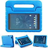 TIRIN Walmart Onn 8 Inch Tablet Case, Light Weight Shockproof Handle Friendly Convertible Stand Kids Case for Walmart Onn 8 inch Android Tablet 2019 Release Model ONA19TB002 NOT for 2020 Gen 2 - Blue