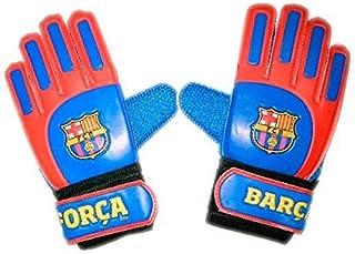 Guantes de Portero FC. Barcelona - Producto Oficial Licenciado - Talla 7 - Medidas Exterior 23 x 11 cm.