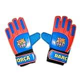 Guantes de Portero FC. Barcelona - Producto Oficial Licenciado - Infantil - Talla 5 - Medidas 23 x 10,5 cm.