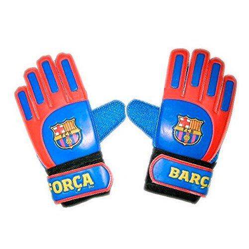 Guantes de Portero FC Barcelona 2017-2018 - Producto Oficial Licenciado - Infantil - Talla 2 - Medida Exterior 20 x 9 cm.
