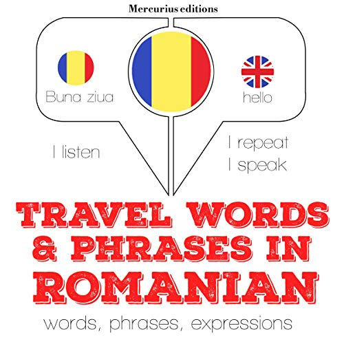 Travel words and phrases in Romanian  By  cover art