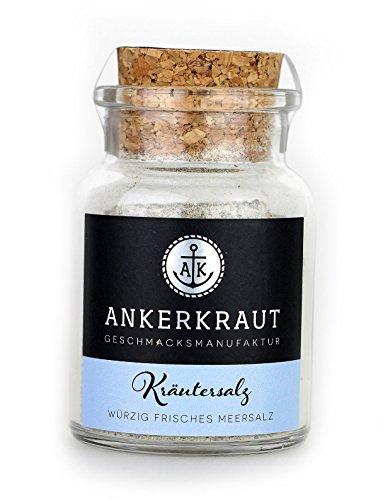 Ankerkraut Kräutersalz, klassiches Kräutersalz, 100g im Korkenglas
