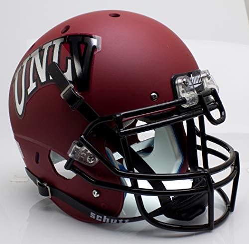 NCAA UNLV Rebels Unisex NCAA UNLV Runnin' Rebels On-Field Authentic XP Football Helmetncaa UNLV Runnin' Rebels On-Field Authentic XP Football Helmet, Red Alt, One Size