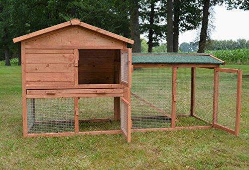 Stall Nr 1 Kaninchenstall Hasenstall Kaninchenkäfig Hasenkäfig Meerschweinchenstall - 2