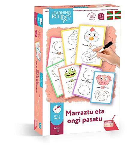 Falomir- Marruztu ETA ongi pasatu. Juego de Mesa Educativo para desarrolla la Creatividad e imaginación. (30036)
