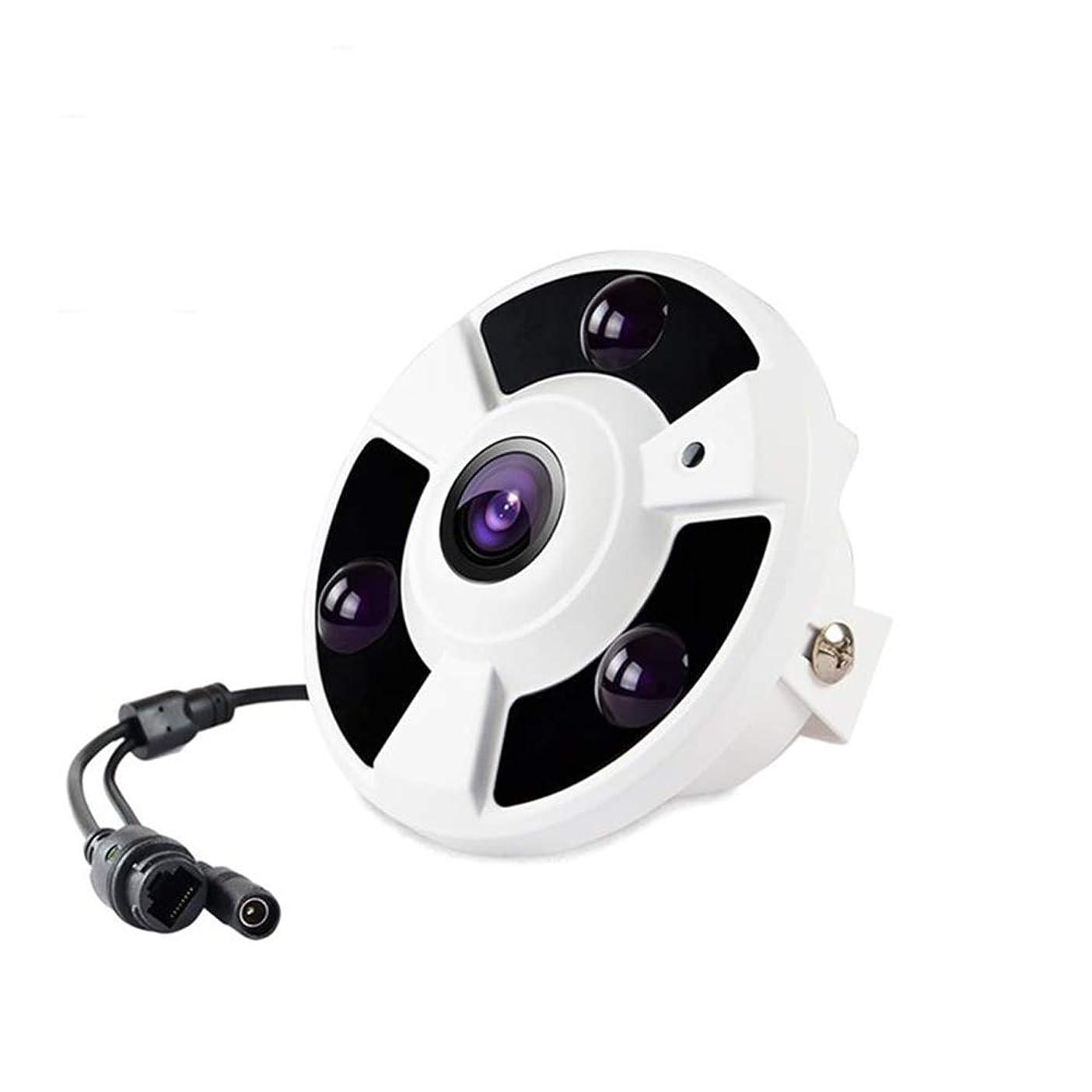 行政無駄だ徒歩でHD 1920 x 1080P 2.0 MP パノラマ魚眼6アレイ LED IR IP カメラナイトビジョンセキュリティ P2P IP CCTV カムシステム IR カット