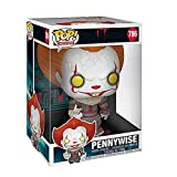 Lotoy Funko Pop Movie : Stephen King'S It - Pennywise 10inch Vinyl Gift for Horror Movie Fans Model...