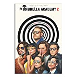 TIKOO Movie Poster The Umbrella Academy Canvas Art Poster Picture Modern Office Family Bedroom Decorative Posters Gift Wall Decor Painting Posters 24×36inchs(60×90cm)