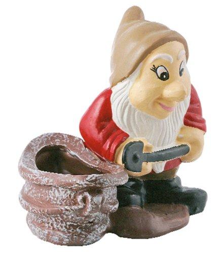 Gnome avec Pelle Travailleur h 28 Cm.