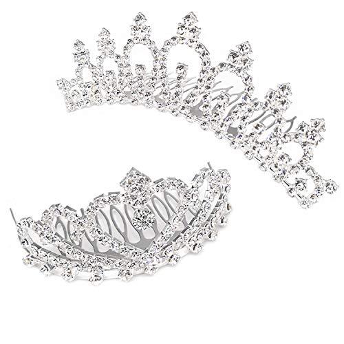ティアラ 子供 王冠 ヘアアクセサリー 子供髪飾り 女の子 tiara プリンセス ヘアピン 雏祭り 誕生日祝い 飾り 2種類セット