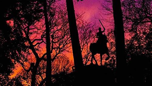 ASWETOTG New Rompecabezas de 1000 Piezas Monumento a Juana de Arco en el Paisaje Natural Rompecabezas Rompecabezas para niños Adultos Juguetes Juego-75 * 50