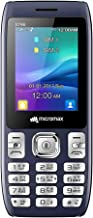 (Renewed) Micromax X746 Power Saving Mode, Torch Link on Call, 3000mAh Phone (Blue)