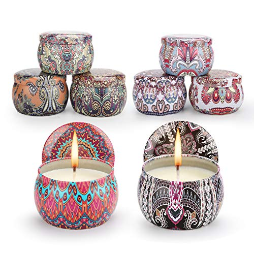 Innoo Tech Scented Candles, Scented Candle Gift Set of 8 Pack, Handmade...