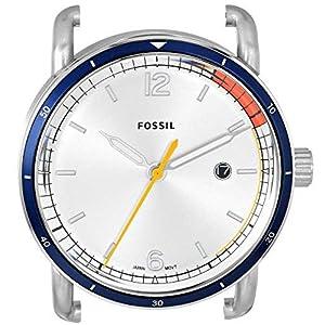 Fossil C221052 – Reloj de cuarzo para hombre, acero inoxidable, color