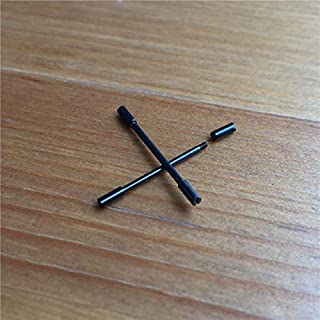 Pukido watch screw tube for AP ROO royal-oak-offshore 42mm bumble bee Chronograph watch carbon fibre case screws rod 26176 parts tools - (Color: Black)
