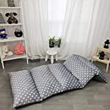 Floor Lounger Pillow casing for boy Girl, Soft Minky Plush, Arrow Print, Cover/Sleeve/Casing ONLY! Perfect Reading and Watching TV Cushion - Excellent for Sleepovers, King Size;