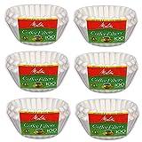Melitta Junior Basket Coffee Filters White (6)