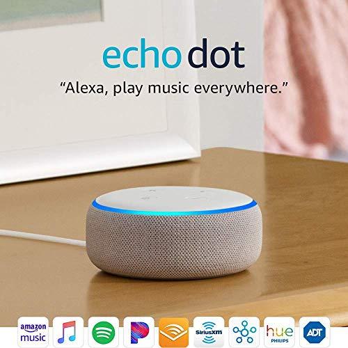 Echo Dot (3rd Gen) - Smart speake   r with Alexa - Sandstone