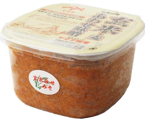 玄米 ・ 麦 あわせ味噌( 無添加 完全無農薬 ) 750gカップ