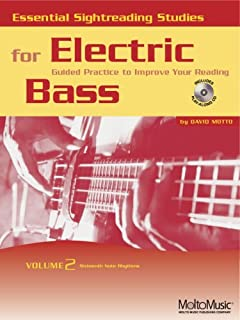 Essential Sightreading Studies for Electric Bass Volume 2