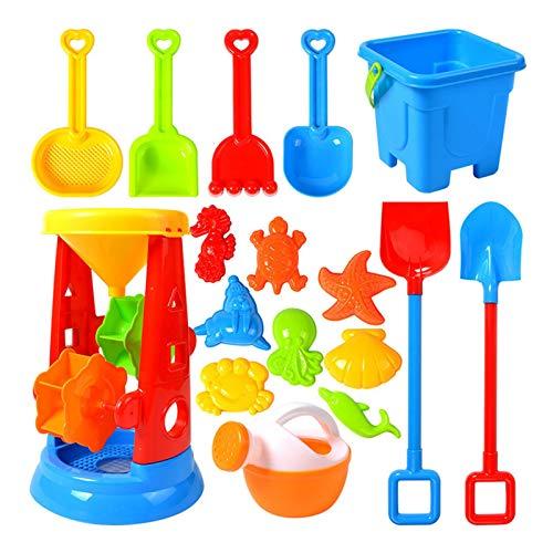 Royoo Sandspielzeug,sandkasten Spielzeug, Kinder Junge Mädchen Strandspielzeug, Sandkasten Spielzeug Set Sandspielset Strandspielzeug Sand Und Wasser Spielzeug Set Für Kinder Ab 3 Jahre