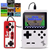 Proslife Handheld Game Console,Mini Game Player Machine Built-in 800 Classic Games Support Connecting TV & Two Players,Gift Birthday for Kids, Adults