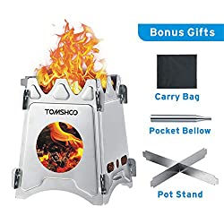 TOMSHO Camping Wood Stove