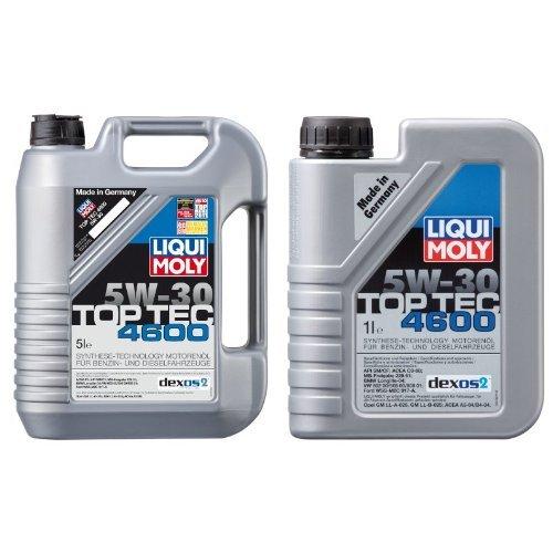 Liqui Moly Top Tec 4600 Motoröl 5W-30,6 Liter (5L + 1L)