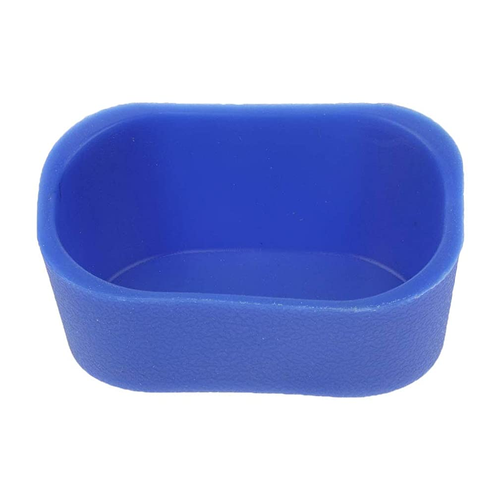 ソーシャル実用的不規則なD DOLITY シャンプーボウル ピロー ネックレス クッション 高品質 5色選べ - 青