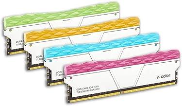 V-Color Prism II RGB 32GB (4 x 8GB) DDR4 3600MHz (PC4-28800) Desktop Memory Module Ram (TL8G36818C-E0P2SRBOFQ)