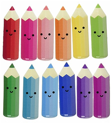 Jolee's Boutique 0015586963809 (Jolly Boutique) Bright Colored Pencils 50-21463, Other