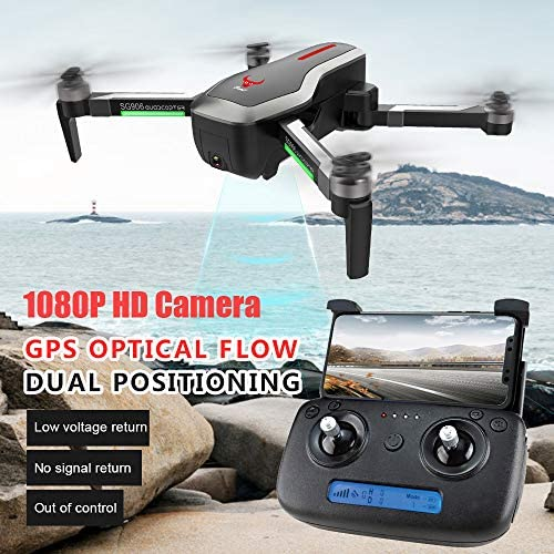 Mitlfuny RC Quadrocopter Drohne,SG906 GPS 5G WiFi FPV 1080P Kamera Brushless Selfie Faltbarer RC Drohne Quadcopter
