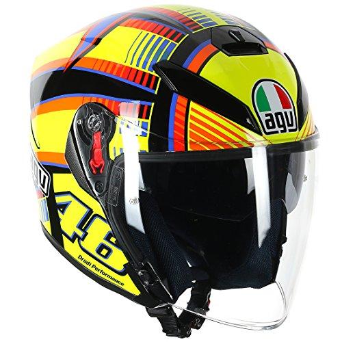 AGV(エージーブイ) バイクヘルメット ジェット K-5 JET SOLELUNA (ソレルナ) S (55-56cm) 113190G0-001-S