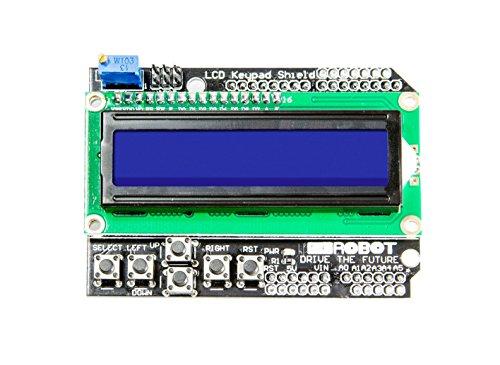 MissBirdler Keypad Shield mit 1602 LCD Display perfekt für Arduino UNO und Mega