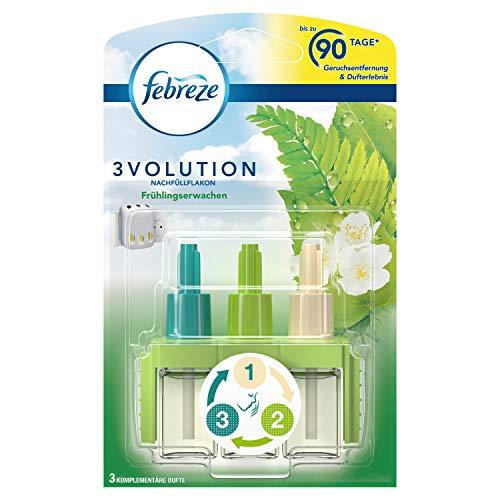 Febreze 3Volution Duftstecker (20 ml) Frühlingserwachen, Nachfüller, Raumduft und Lufterfrischer